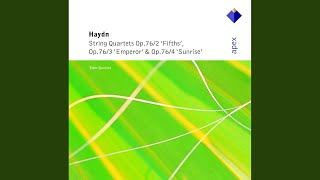 Haydn : String Quartet in C major Op.76 No.3, 'Emperor' : IV Finale - Presto