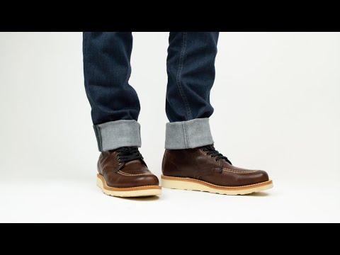 Men's | Ellington Mahogany Vibram Boots