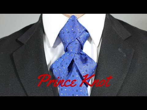 How To Tie a Tie Prince Knot