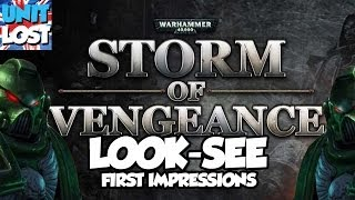 Warhammer 40,000: Storm of Vengeance - Look See!