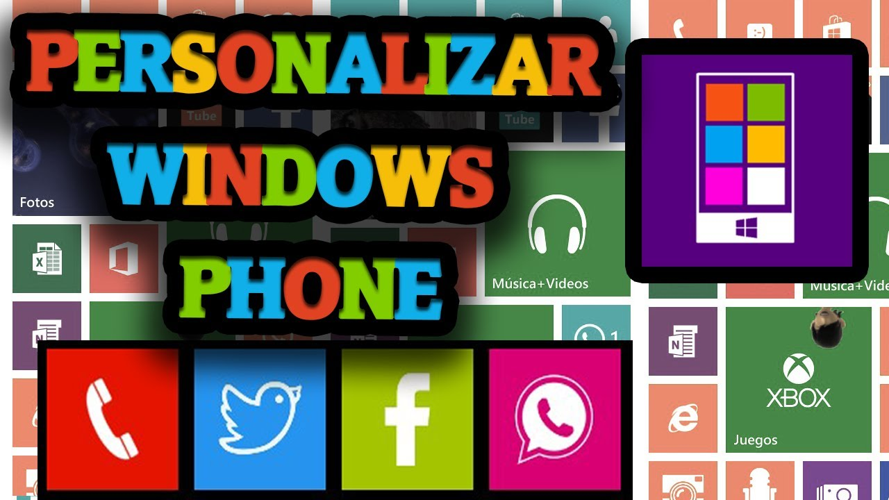 Cool Tiles | Personaliza tu inicio de Windows Phone 8 ...