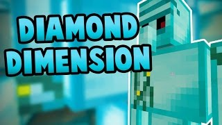 How To Make A Portal To The DIAMOND Dimension - Minecraft Pocket Edition (Windows 10 Edition)