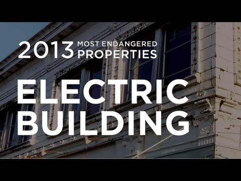 Electric Building - Aberdeen, Washington - 2013 Most Endangered List
