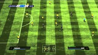 FIFA 11 - Arsenal vs Real