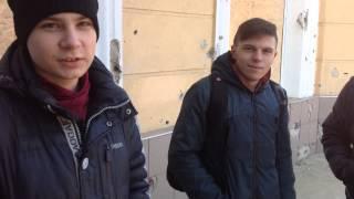 Подростки Луганска об учебе, украинском языке и жизни..