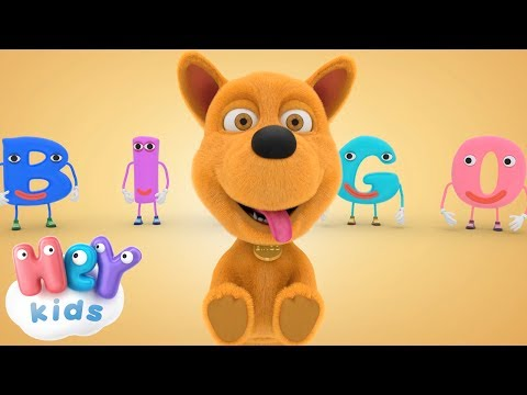 Bingo Song - The  dog song for kids - HeyKids