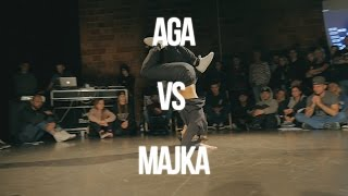 AGA VS MAJKA - BGIRL BATTLE  QUARTER FINAL - ART OF BREAKING 2016