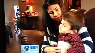 Hope for the holiday, Conner Goldhammer inspirational story living with Osteogenesis Imperfecta