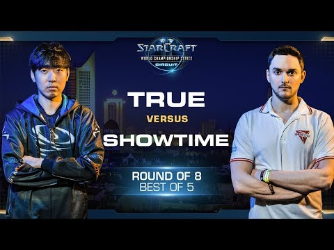 ShoWTimE vs TRUE PvZ - RO8 - WCS Leipzig 2018 - StarCraft II