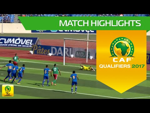 Cape Verde vs Morocco | Africa Cup of Nations Qualifiers 2017