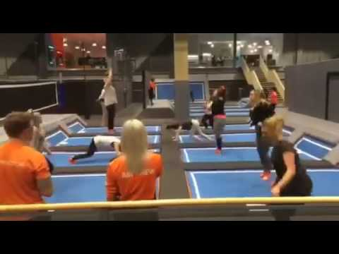 Freestyle Fitness class in action