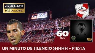UN MINUTO DE SILENCIO PARA BOCA QUE ESTA MUERTO / River Plate vs Belgrano - Superliga