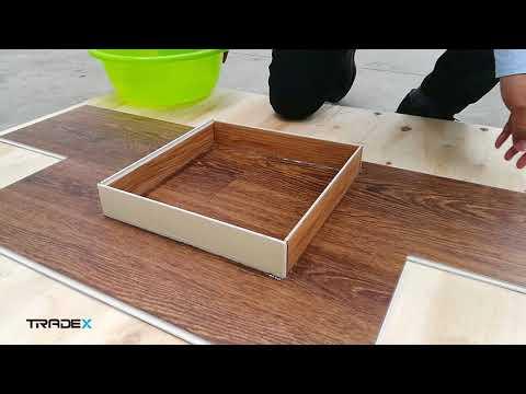 Vinyl WPC Flooring Waterproof Test