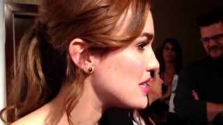 Elizabeth Henstridge for Agents of S.H.I.E.L.D. At Paleyfest 2014! Thumbnail