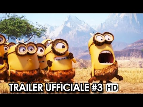 cheap for discount f2e59 a49c5 MINIONS Trailer Ufficiale Italiano #3 (2015) HD
