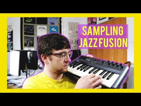 Making a SONG Sampling JAZZ FUSION Chopping FEMALE VOCALS