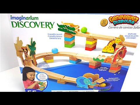 Best learning Video for Kids: Preschool Marble Maze Run Wooden Educational Toy Imaginarium Discovery