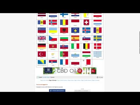 GeoguessrWizard plays Sporcle! - Flags of Europe