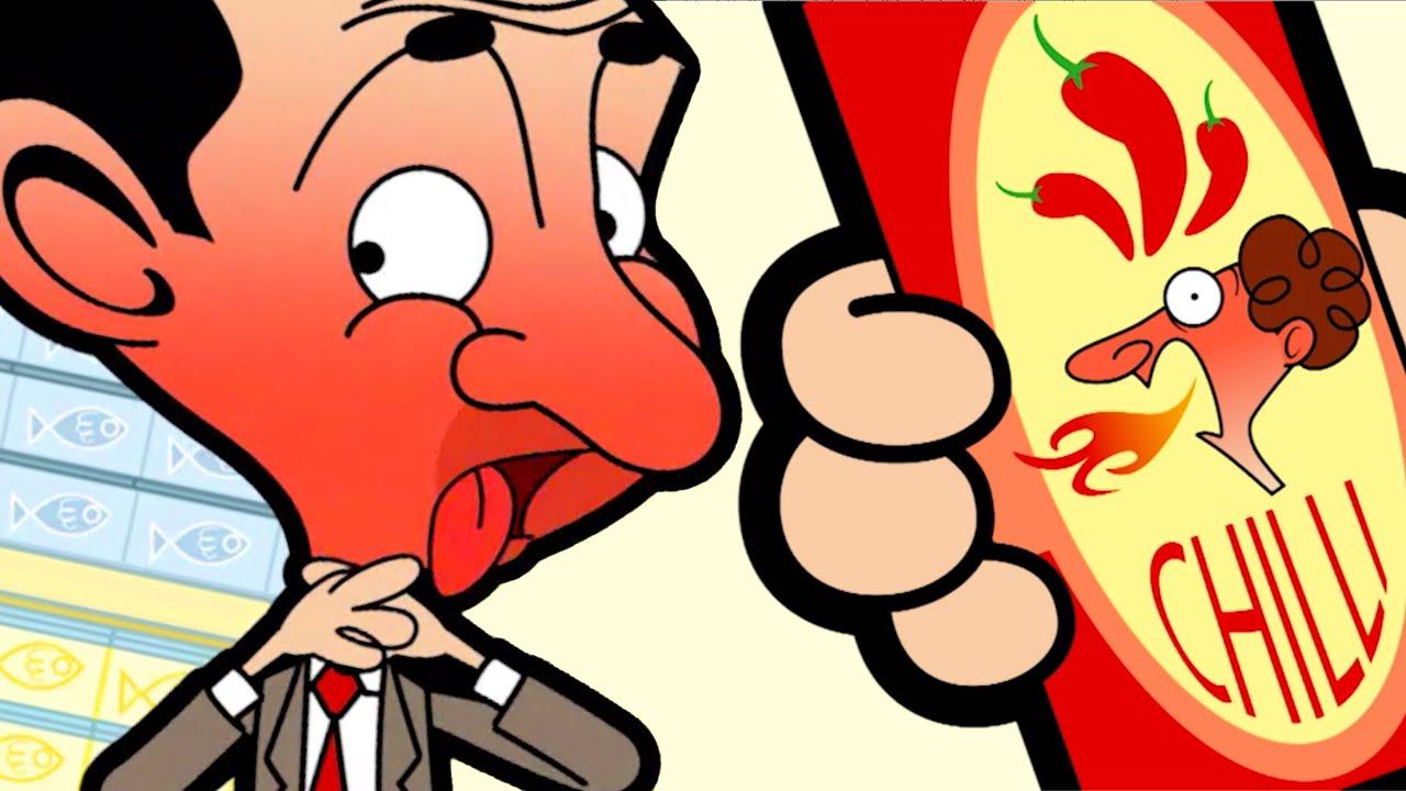 CHILLI Bean   Mr Bean Cartoon  Mr Bean Full Episodes  Mr Bean Official