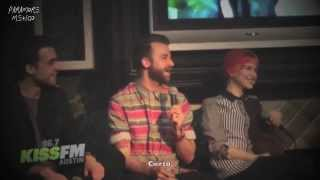 Paramore Interview with KISS FM  96.7 (Subtítulos en Español)