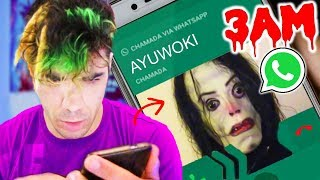 AYUWOKI LIGOU-ME NO WHATSAPP AS 3 DA MANHA (O Famoso Michael Jackson da Deep Web)