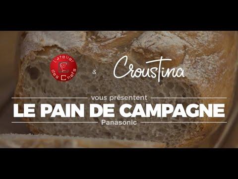 recette-de-pain-de-campagne-avec-la-machine-à-pain-croustina-sd-zp2000