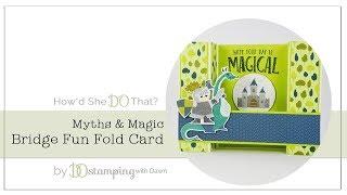 Bridge Fun Fold Card from DOstamping thumbnail