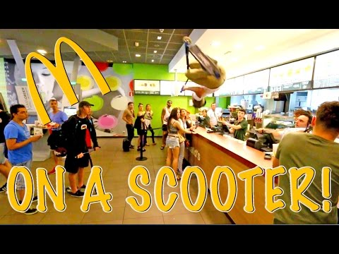 BACKFLIP OFF MCDONALDS COUNTER! (MCFLIP)