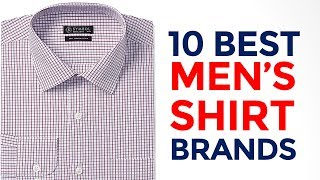 10 Best Shirt Brands for Men's in India with Price Range | Top 10 Formal Shirt Brands | 2017