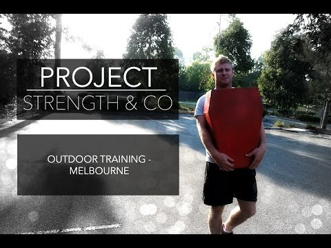 Project Strength & Co - Outdoor training sessions Melbourne