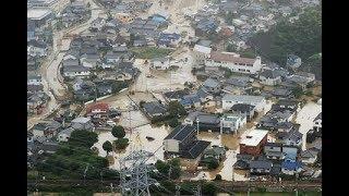 上空から見た豪雨被害=広島 thumbnail