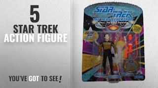 Top 10 Star Trek Action Figure [2018]: Lt Commander Data Star Trek TNG Action Figure