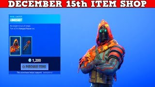 Fortnite Item Shop (December 15th) | These *NEW* Skins Surprised Me!