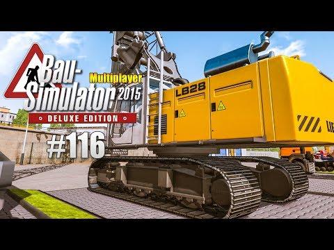 Bau-Simulator 2015 Multiplayer #116 - Sportplatz für die Schule! CONSTRUCTION SIMULATOR Deluxe |