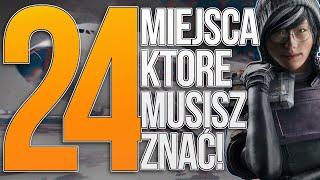 24 TRIKI, KTÓRE MUSISZ ZNAĆ! - RAINBOW SIX SIEGE Parkour Edition