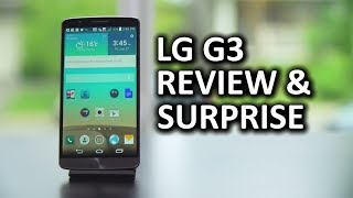 LG G3 Review & Surprise