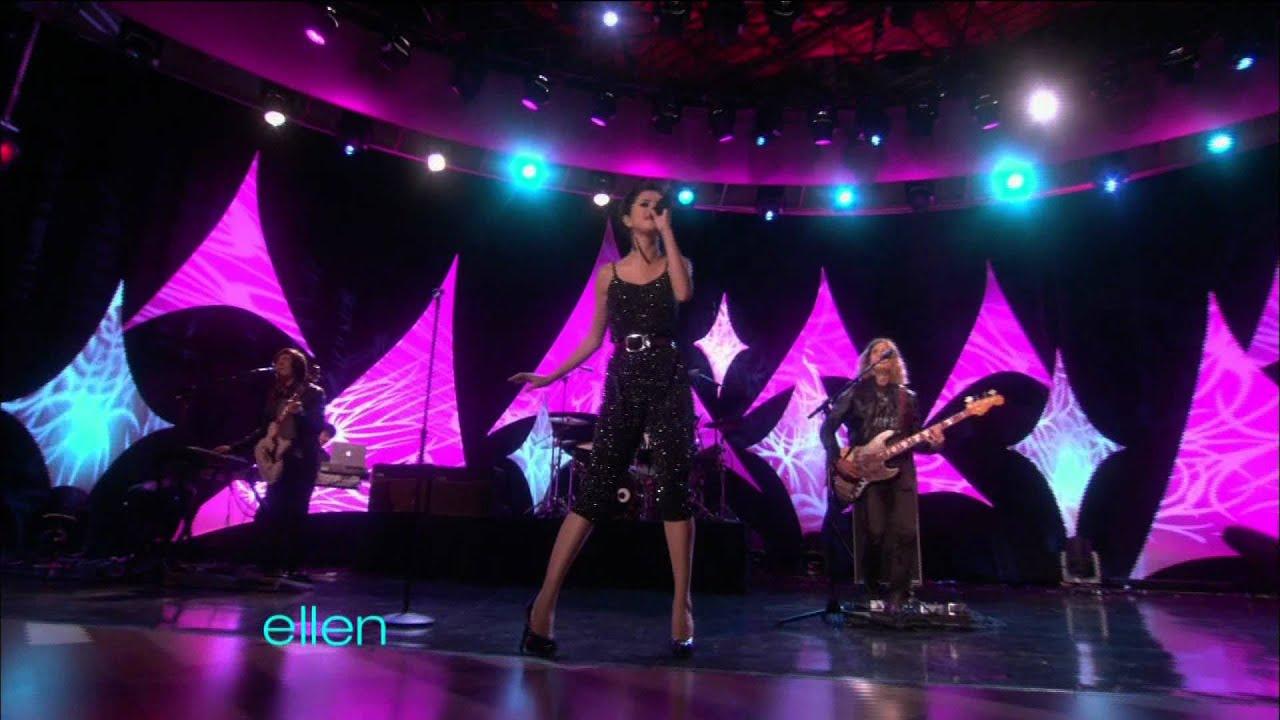 Download HD Selena Gomez - A Year Without Rain [The Ellen DeGeneres Show]