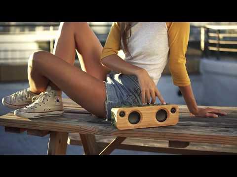 【海恩數位】Marley Get Together Mini 藍牙喇叭 經典木質喇叭 高清完美音質 經典黑