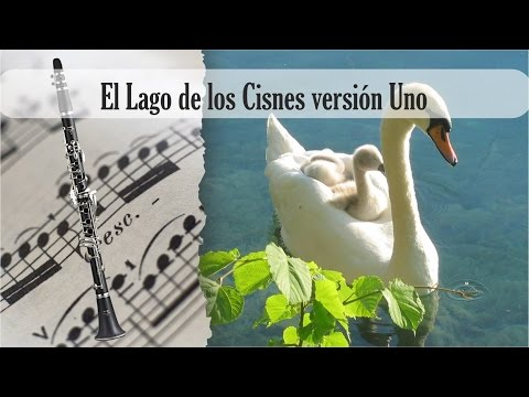 Partitura El Lago de los Cisnes versión Uno Clarinete Soprano