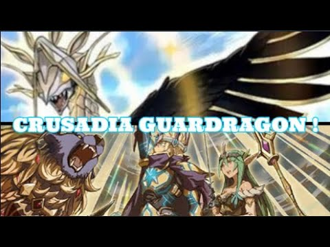 YUGIOH ! -  GUARDRAGON CRUSADIA DECK PROFILE  FRESH OUT OF SAVAGE STRIKE !