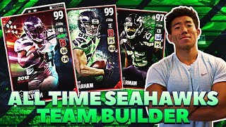 ALL SEAHAWKS & LEGION OF BOOM LINEUP! MADDEN 17 ULTIMATE TEAM