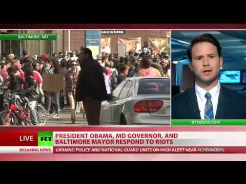 President, Maryland governor respond to Baltimore riots