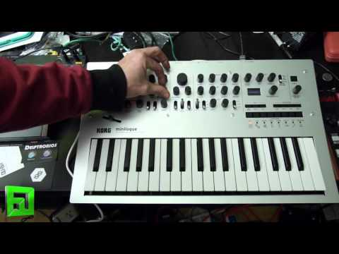 Korg Minilogue thoughts from Flux post NAMM 2016 review