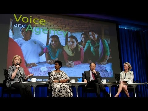 Hillary Clinton and Jim Yong Kim: Empowering Women & Girls Improves the World