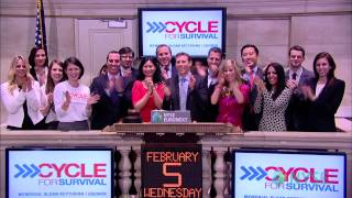 Memorial Sloan Kettering Cancer Center Highlights Cycle for Survival 2014