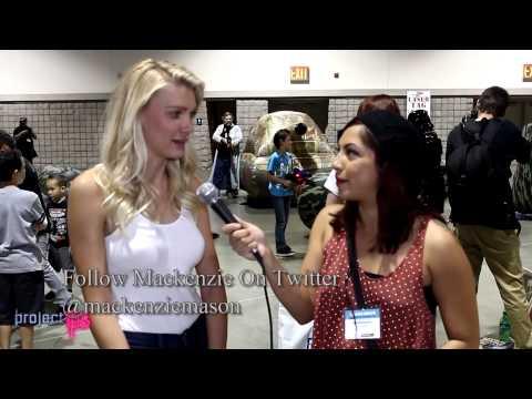 Mackenzie Mason, Body Double of Cortana in Halo 4, speaks at Long Beach Comic and Horror Con 2012