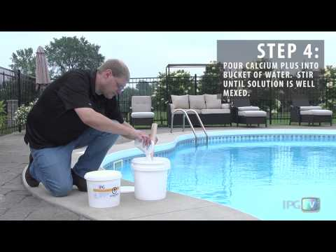 How To Add Calcium To Your Swimming Pool