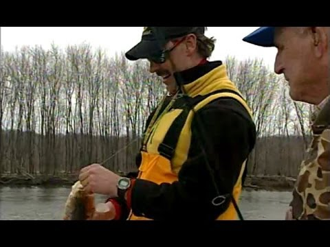 "Illinois Adventure  #1307 ""Fishing trip on the Illinois River just above Hennepin"""