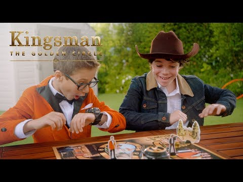 """Kingsman: The Golden Circle   """"The Official Game"""