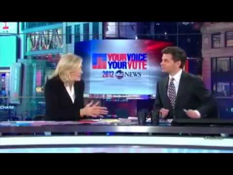Diane Sawyer drunk on the air during election night?